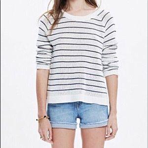 Madewell Dockline Mariner Striped Sweater
